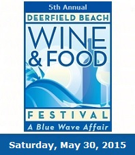 Deerfield Beach Wine and Food Festival, A Blue Wave Affair 2015