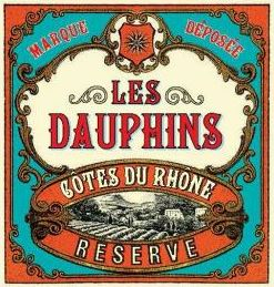 Les Dauphins Cotes Du Rhone Reserve Red