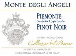 Monte Degli Angeli Pinot Noir Piedmonte