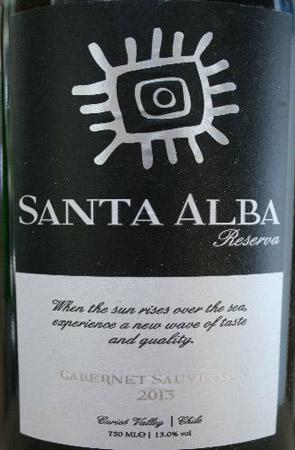 Santa Alba Cab Sauv 2013