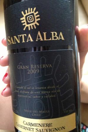 Santa Alba Gran Reserve Cabernet Sauvignon